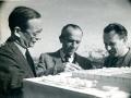 Od lewej: Kazimierz Marczewski i Zygmunt Skibniewski, 1949