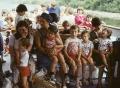 Z wnukami na wycieczce statkiem, 1980