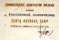 Złota Odznaka SARP, 1977