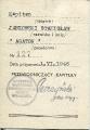 Legitymacja odznaki AK