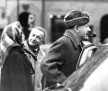 SJ z Johnem Steinbeckiem i jego żoną na Starym Mieście