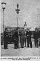 Sekretarz ONZ Dag Hammarskjold na Placu Zamkowym, pierwszy z prawej SJ