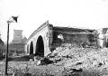 Zburzony wiadukt Pancera, 1945