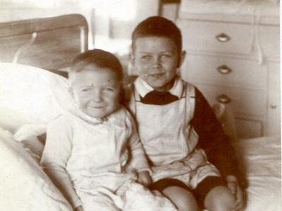 Andrzej i Stanisław Jankowscy 1914