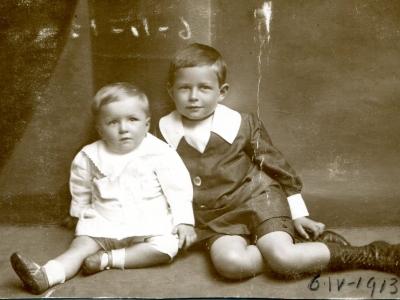 Andrzej i Stanisław Jankowscy 1913