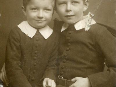 Andrzej i Stanisław Jankowscy 1916