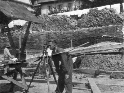 SJ na inwentaryzacji na Huculszczyźnie, 1934