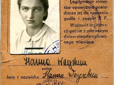 Legitymacja Bratniej Pomocy Studentów Politechniki Łódzkiej, 1945