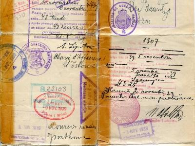 Zaświadczenie (paszport) SJ, str. 3