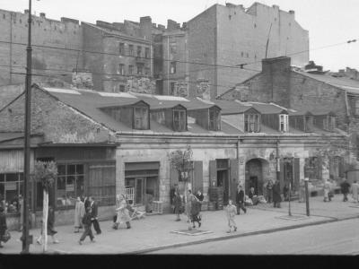 Zniszczona Marszałkowska, 1947