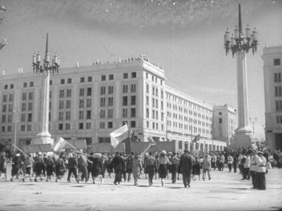 Otwarcie MDM, 22 lipca 1952