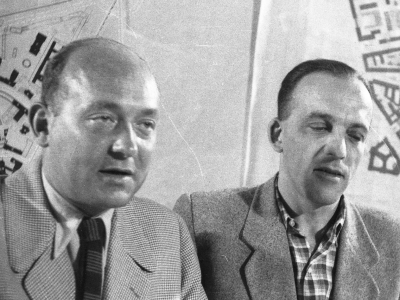 Zygmunt Stępiński i Józef Sigalin
