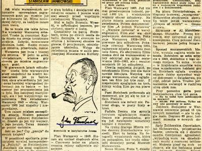Artykuł SJ w Życiu Warszawy