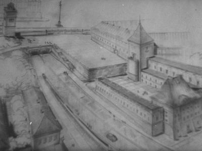 Wariant podwójnego tunelu i dużego tarasu. Rys. Zygmunt Stępiński