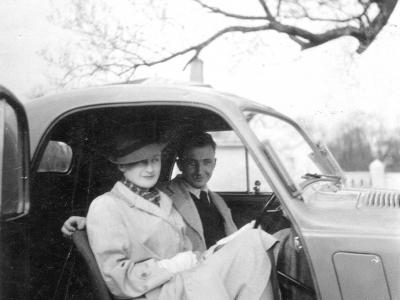 Zofia i Stanisław Jankowscy, 1938