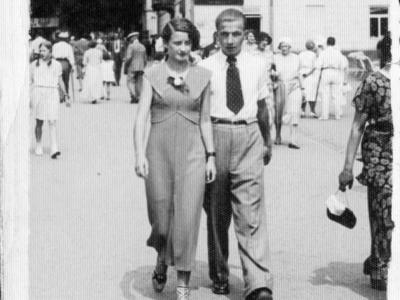 Zofia i Stanisław Jankowscy Krynica, 1938
